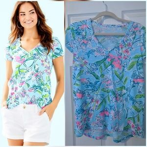 Lilly Pulitzer sway this way Etta top